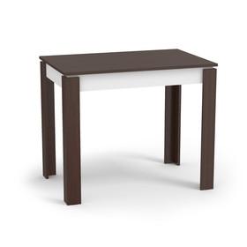 Стол обеденный Оптима,венге/белый Ош