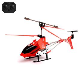 Вертолет радиоуправляемый с гироскопом, цвет красный Ош