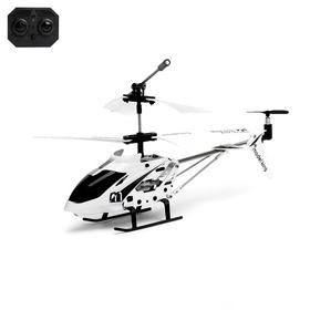 Вертолет радиоуправляемый с гироскопом, цвет белый Ош