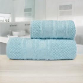 Полотенце «Зенит», размер 33 х 70 см, синий, махра