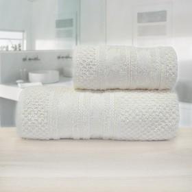 Полотенце «Зенит», размер 50 х 90 см, кремовый, махра