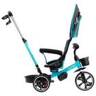 """Велосипед трехколесный Micio Veloce, колеса EVA 10""""/8"""", цвет бирюзовый - Фото 5"""