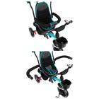 """Велосипед трехколесный Micio Veloce, колеса EVA 10""""/8"""", цвет бирюзовый - Фото 7"""