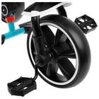 """Велосипед трехколесный Micio Veloce, колеса EVA 10""""/8"""", цвет бирюзовый - Фото 8"""
