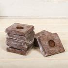 Субстрат кокосовый в кубике, 7 ? 7 см, 0,4 л