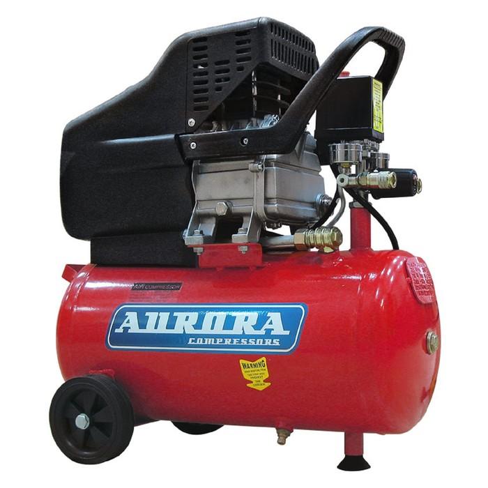 Компрессор Aurora WIND-25 6762, 220 В, 271 л/мин, 1.8 кВт, 8 бар, 24 л, поршневой, масляный
