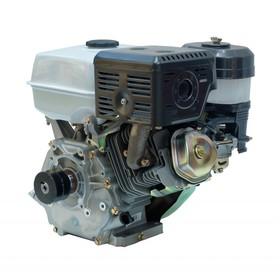 Двигатель Aurora АЕ-14D/Р 13716, 14 л.с, 420 см3, бензиновый, ручной стартер, со шкивом Ош