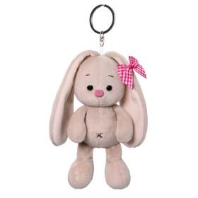 Мягкая игрушка-брелок «Зайка Ми с розовым бантиком», 14 см