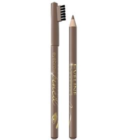 Карандаш для бровей Eveline Eyebrow Pencil, тон light brown