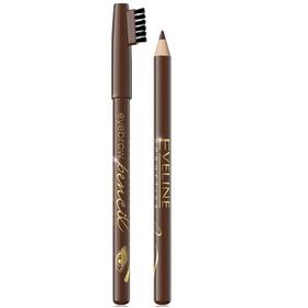 Карандаш для бровей Eveline Eyebrow Pencil, тон brown