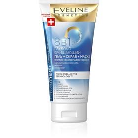 Гель-скраб-маска для лица 8 в 1 Eveline Facemed+, против несовершенств кожи, 150 мл