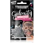 Гелевая маска для лица Eveline Galaxity Glitter, активно-очищающая, саше, 10 мл