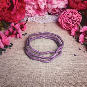Бусы-браслет 'Рептилия', цвет розовый, 100см Ош