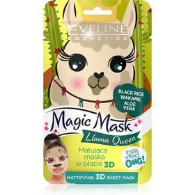 Тканевая маска для лица Eveline 3D Magic Mask, матирующая