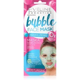 Тканевая маска для лица Eveline Bubble Face Mask, увлажняющая пузырьковая