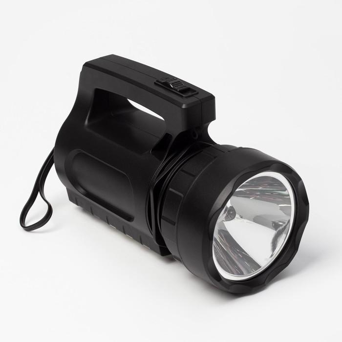 Фонарь-прожектор аккумуляторный, 9 Вт3 Вт,1800 mAh,18 led, от сети 220 В, 18.5х11х9
