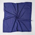 Платок женский, цвет фиолетовый, размер 70х70