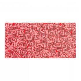 Повязка трикотажная, цвет красный, размер 24х49
