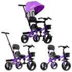 """Велосипед трехколесный Micio Gioia, колеса EVA 10""""/8"""", цвет фиолетовый - Фото 3"""
