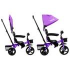 """Велосипед трехколесный Micio Gioia, колеса EVA 10""""/8"""", цвет фиолетовый - Фото 4"""