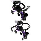 """Велосипед трехколесный Micio Gioia, колеса EVA 10""""/8"""", цвет фиолетовый - Фото 6"""