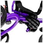 """Велосипед трехколесный Micio Gioia, колеса EVA 10""""/8"""", цвет фиолетовый - Фото 9"""
