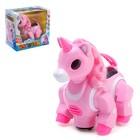 Игрушка-робот «Пони», работает от батареек, танцует, световые и звуковые эффекты, МИКС