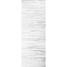 Комплект ламелей для вертикальных жалюзи «Скерцо», 5 шт, 180 см, цвет серый Ош