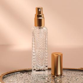 Флакон для парфюма «Узор», с распылителем, 15 мл, цвет МИКС Ош