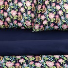 Постельное бельё 1.5 сп Этель «Дикий цветок», размер, размер 143х215 см, 150х214 см, 70х70 см-2шт, поплин - Фото 6