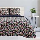 Постельное бельё 1.5 сп Этель «Дикий цветок», размер, размер 143х215 см, 150х214 см, 70х70 см-2шт, поплин - Фото 1