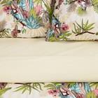Постельное бельё 1.5 сп Этель «Тропический лес», размер 143х215 см, 150х214 см, 70х70 см-2шт, поплин - Фото 5