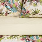 Постельное бельё 1.5 сп Этель «Тропический лес», размер 143х215 см, 150х214 см, 70х70 см-2шт, поплин - Фото 6