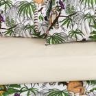 Постельное бельё 2 сп Этель «Лемуры», размер 175х215 см, 200х220 см, 70х70 см-2 шт, поплин - Фото 5