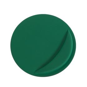 Коврик для мыши LuazON, подушка под руку, круглый, зеленый