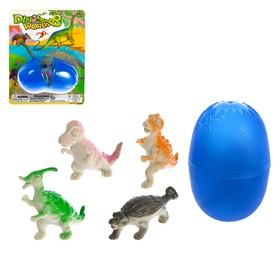 Набор динозавров в яйце «Дино», МИКС Ош