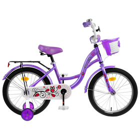 "Велосипед 18"" Graffiti Premium Girl RUS, цвет сиреневый"