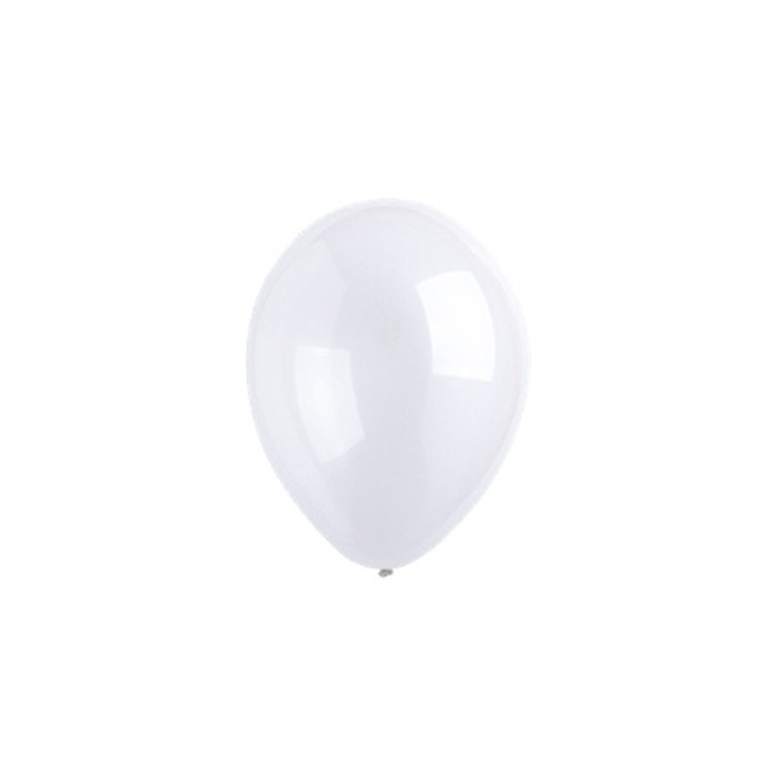 Шар латексный 5, кристалл, водяные бомбочки, набор 100 шт., цвет прозрачный