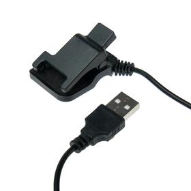Зарядное устройство для Mi Band 4, LCC-50, прищепка, зарядка в браслете, 20 см, черное Ош