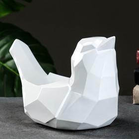 Подставка под мелочи 'Птичка' белая 33х16,5х21см Ош