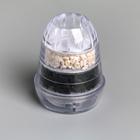 Фильтр на кран «Тройной барьер» (актив карбон, коралловая окаменелость,сульфат кальция) цвет МИКС