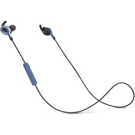 Наушники JBL Everest 110GA, вакуумные, 1.2 м, беспроводные, Bluetooth 4.1, синие