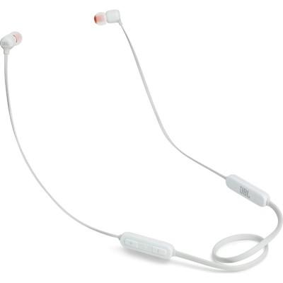 Наушники JBL T110BT WHT, вакуумные, беспроводные, Bluetooth 4.0, белые - Фото 1