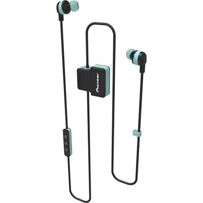 Наушники Pioneer SE-CL5BT-GR, вакуумные, беспроводные, Bluetooth 4.1, зеленые - Фото 1