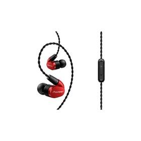 Наушники Pioneer SE-CH5T, вакуумные, 1.2 м, проводные, красные