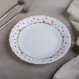 Тарелка десертная Fraisa rouge, d=18 см