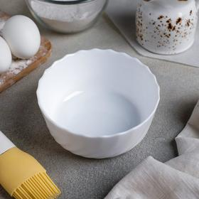 Форма для запекания Trianon, 370 мл, d=12 см, цвет белый