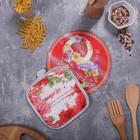 Многофункциональная кухонная доска + прихватка«8 Марта», 20 см