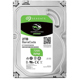 Жесткий диск Seagate Original Barracuda, 2Тб, SATA-III, 3.5""