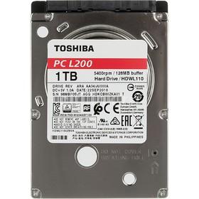 "Жесткий диск Toshiba L200 Slim, 1Тб, SATA-III, 2.5"""